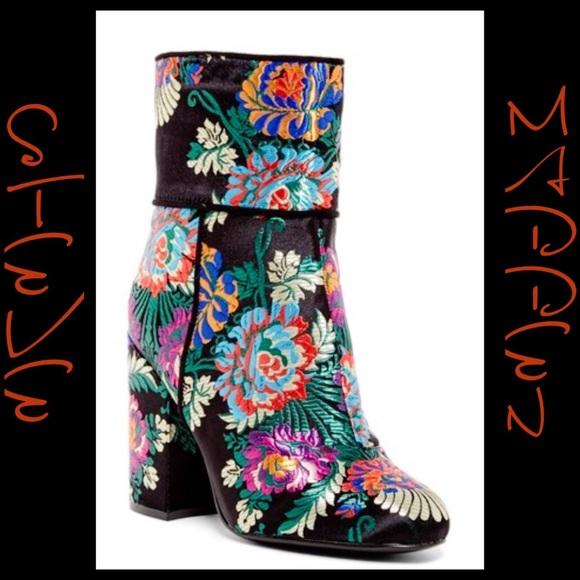 981c90cf24a Steve Madden Goldie Block Heel Midi Boot Size 8